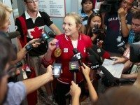 Team Canada Returns Home From 2012 Olympics