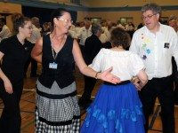 Learn the art of Modern Square Dance tonight for free, thanks to Triangle Squares. Photo courtesy of Byron Godfrey.
