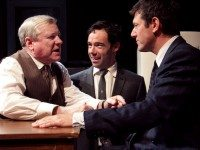 Joseph Ziegler, Mike Ross and Ari Cohen in Soulpepper's Death of a Salesman. Photo by Nathan Kelly.