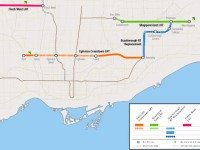 Metrolinx's light rail projects in Toronto.