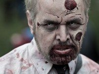Learn sweet makeup tricks like these just in time for the Zombie Walk and Halloween. Photo by