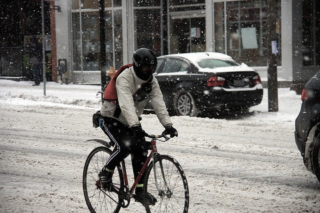 How To Ride Your Bike Through A Toronto Winter