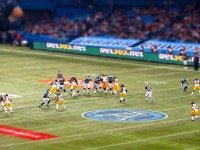 "The Argos face the Calgary Stampeders on Sunday, but related events are happening all weekend. Photo by {a href=""http://www.flickr.com/photos/58188598@N06/8147663159/""}GBaker63{/a}, from the {a href=""http://www.flickr.com/groups/torontoist/""}Torontoist Flickr Pool{/a}."
