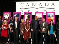 The 2013 Canada Reads panelists and authors. Photo by Grace O'Connell.