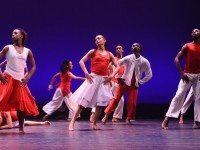 Ballet Creole's dancers in Soulful Messiah. Photo by Peter Lear.