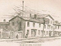 Red Lion Inn from John Ross Robertson's Landmarks of Toronto, Volume 1 (1894).