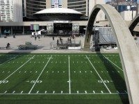 "The 100th Grey Cup has arrived at last. Photo by {a href=""http://www.flickr.com/photos/dtstuff9/8194907786/in/pool-torontoist""}dtstuff9{/a} from the {a href=""http://www.flickr.com/groups/torontoist/""}Torontoist Flickr Pool{/a}."