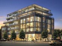 Rendering of the proposed condo development at Queen East and Kenilworth.