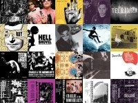 The covers of every Telephone Explosion release to date. Collage by Jon Schouten.