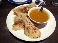 Roti, from Restoran Malaysia. Photo by Sarah Efron.