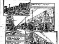 Renderings of North Toronto from the Evening Telegram, December 16, 1912.