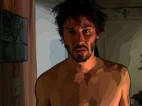 Keanu Reeves in A Scanner Darkly. Photo courtesy of FRL.