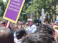 "Brian Burke marches in Toronto's Pride Parade, in 2010. Photo by {a href=""http://www.flickr.com/photos/55976115@N00/4763737475/""}Stephen Gardiner{/a}, from the {a href=""http://www.flickr.com/groups/torontoist/pool/""}Torontoist Flickr Pool{/a}."
