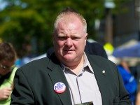 "Rob Ford on the campaign trail, in 2010. Photo by {a href=""http://www.flickr.com/photos/dcronin/4979789781/""}Dan Cronin^{/a}, from the {a href=""http://www.flickr.com/groups/torontoist/pool/""}Torontoist Flickr Pool{/a}."