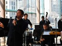 The COC's 2013 season of free shows kicks off with The Humber Latin Big Band. Photo courtesy of the COC.