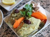 "A trio of dips from Ouzeri. Image from the restaurant's {a href=""http://www.ouzeri.com/""}website{/a}."