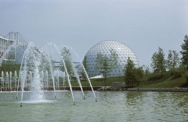 Cinesphere, sometime between 1972 and 1989. Picture by Ellis Wiley. City of Toronto Archives, Fonds 124, File 9, Item 29.