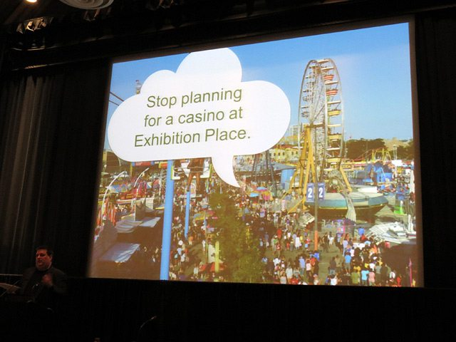 Martin Prosperity Institute research director Kevin Stolarick outlines the anti-Exhibition Place casino recommendation.