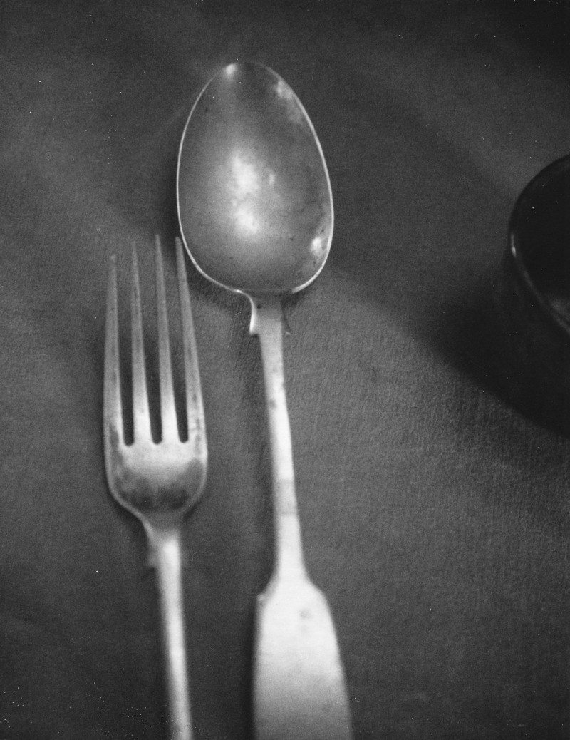 Arthur Rimbaud's Utensils, Musée Rimbaud, Charleville(2005),  © Patti Smith