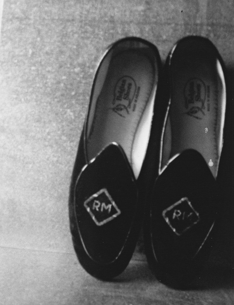 Robert's Slippers (2002),  © Patti Smith