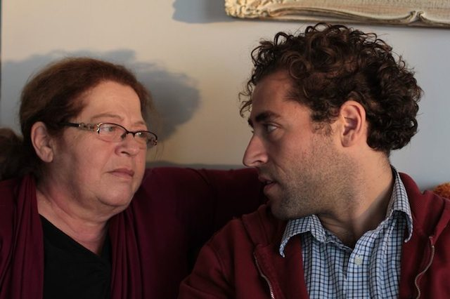 Michael Rubenfeld with his mother Mary Berchard in mothermothermothermothermothermothermother…. Photo by Marjan Nemat Tavousi.