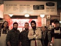 Juno nominees The Strumbellas play Caplansky's Deli tonight. Photo by Shawn Jurek.