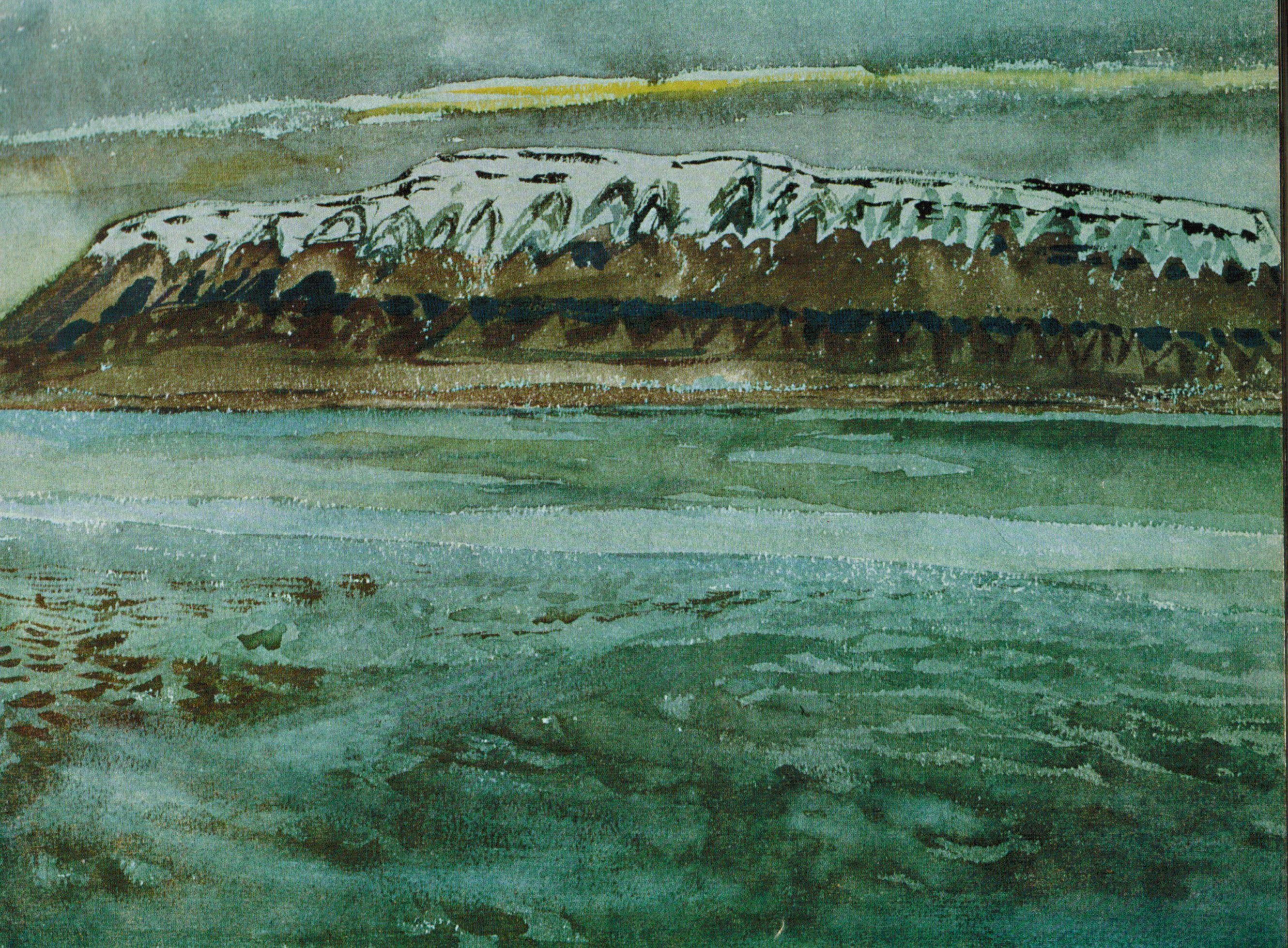 Painting by F H  Varley from Edmund Carpenter's Eskimo (University of Toronto Press, 1959)