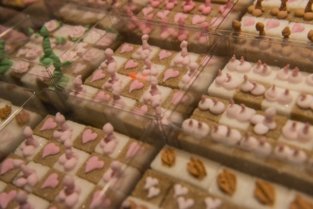 Miss Nibs' erotic sugar cubes are a mouthful.