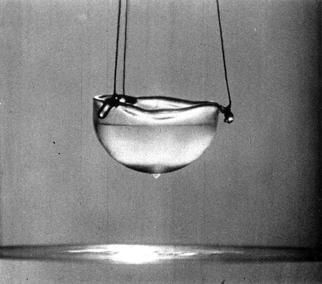 Liquid helium  Photo by Alfred Leitner, 1963  Wikimedia Commons