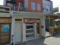 The storefront at 255 Augusta Avenue. Screencap from Google Street View.