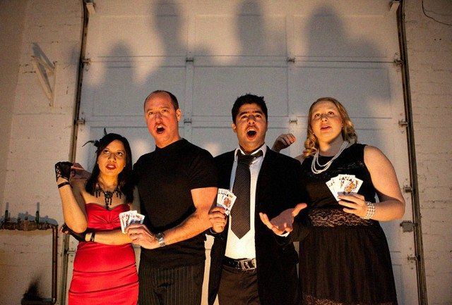 A Hand of Bridge opens tonight as part of a double bill at Soup Can Theatre  Photo courtesy of Soup Can Theatre