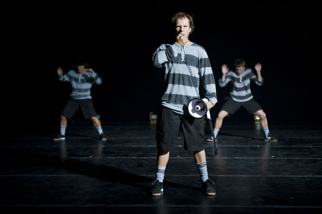 Art and sport converge in A Dance Tribute to the Art of Football. Photo by Knut Bry.