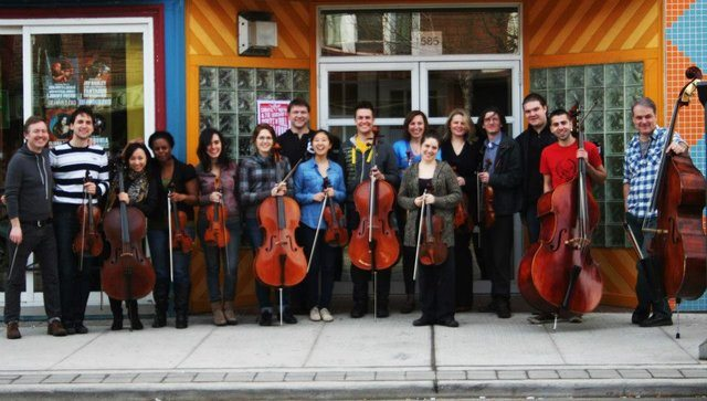 euphonia poses in front of Lula Lounge. Photo by Amy Buchwald.