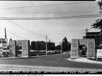 Entrance to Fort York, August 26, 1953. City of Toronto Archives. Fonds 200, Series 372, Subseries 1, Item 1832.