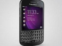 The BlackBerry Q10. Image courtesy of BlackBerry.