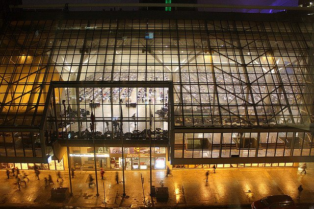 The Metro Toronto Convention Centre; photo by gorbould from the Torontoist Flickr Pool