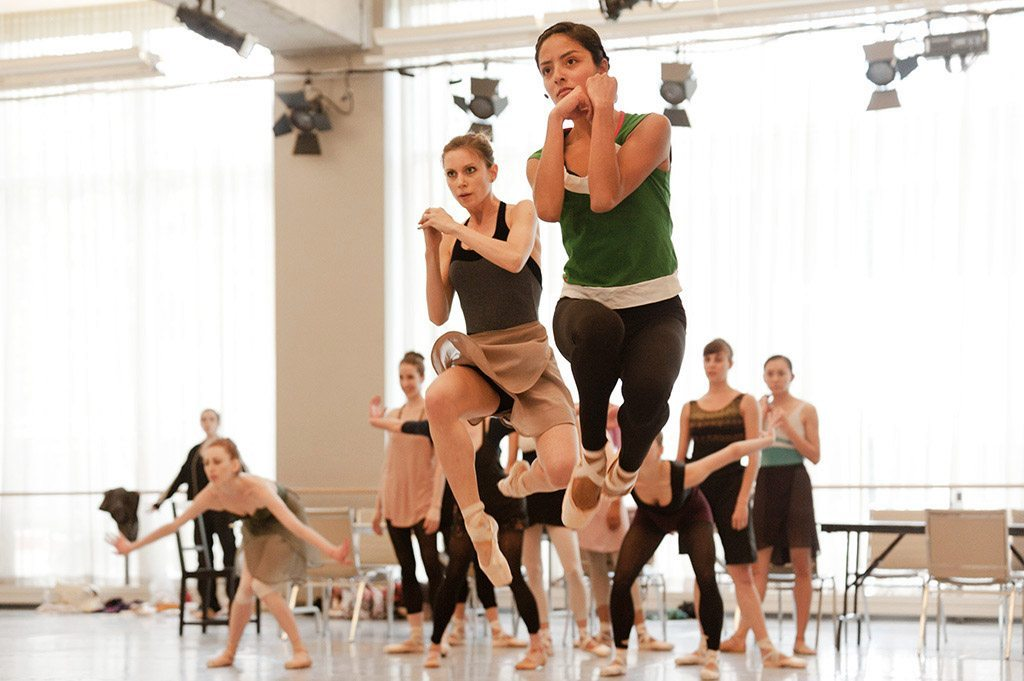 National Ballet of Canada Performers rehearse for Carmen.
