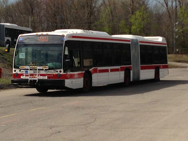 Here's a Picture of One of the TTC's New Articulated Buses | news ...