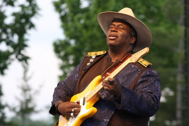 Eugene Hideaway Bridges played the 2012 Waterfront Blues, and is back this year. Photo courtesy of Waterfront Blues.