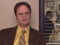 Something something beet farm something something vague reference to ancestors being weird racists something something Star Trek. We'll miss you, Dwight.