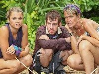 "This is true: Cochran (center) accurately defined the Monty Hall problem this season on ""Survivor"" and became our favorite Survivor ever for just that reason. (Because we're nerds.)"