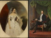 Portraits of Harriette Boulton Smith and William Henry Boulton, two of the few pieces shown in 1913 still exhibited at the Art Gallery of Ontario. Images courtesy of the Art Gallery of Ontario.
