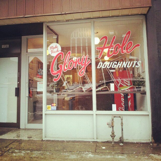 Glory Hole Doughnuts opened with the help of a crowdfunding campaign  Photo by W     , from the Torontoist Flickr Pool
