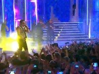 Psy performs at the 2013 MMVAs. Still from MuchMusic's broadcast of the ceremony.