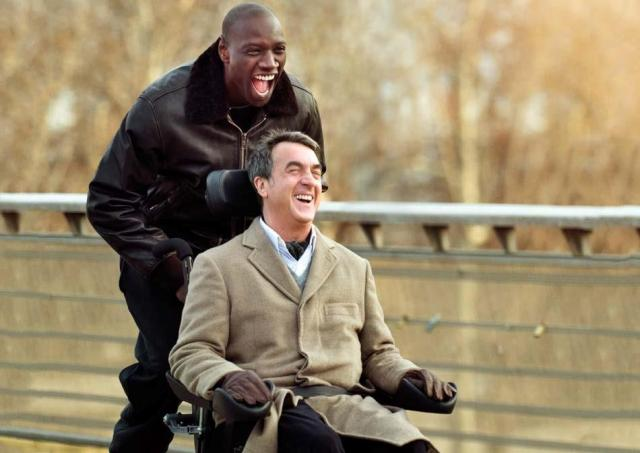 François Cluzet and Omar Sy star in Intouchables. Photo courtesy of The Weinstein Company.