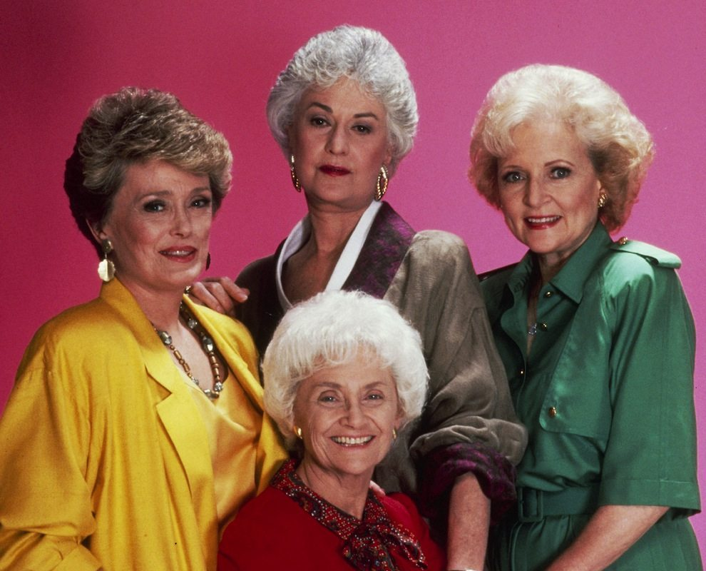 The Golden Girls. Photo courtesy of TV Trivia Night/the Gladstone Hotel.
