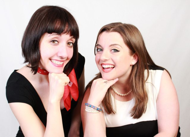 Jess Beaulieu and Laura Bailey, the ladies of Chicka Boom  Photo by Dan Epstein