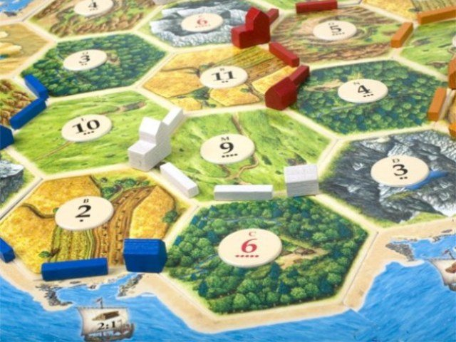 The Settlers of Catan: like The Sims for Luddites. Photo courtesy of Summers of Catan.