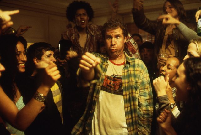 Will Ferrell finds out it's so good once it hits the lips in Old School. Image courtesy of the TIFF Film Reference Library.