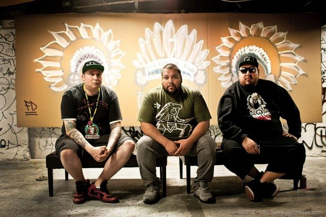A Tribe Called Red will play Friday's Mad Decent Block Party. Photo courtesy of Indoor Recess.